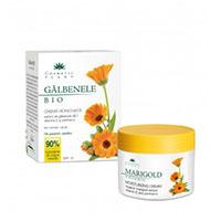 Crema hidratanta galbenele BIO cu vitamina E si panthenol 50 ml