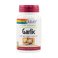 Garlic 500mg 60 cps, Solaray