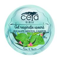 Gel respiratie usoara cu extract de eucalipt, mentol si camfor  20g, Ceta