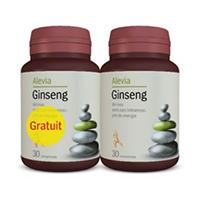 Ginseng 30 cpr+30 cpr gratis, Alevia