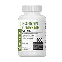 Korean Ginseng 500 mg 100 cps