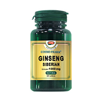 Ginseng Siberian 1000 mg 30cps, Cosmo Pharm