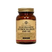 Hidroclorura de glucozamina (Glucosamine HCL) 1000 mg 60 tbl, Solgar