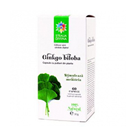 Ginkgo Biloba 60 cps
