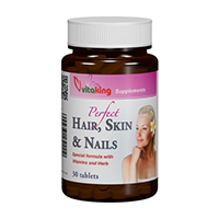Supliment natural pentru par, piele si unghii 30 cpr, Vitaking