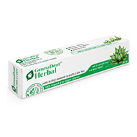 Herbal - Pasta de dinti spumanta cu argila si Aloe Vera 80 ml, Vivanatura