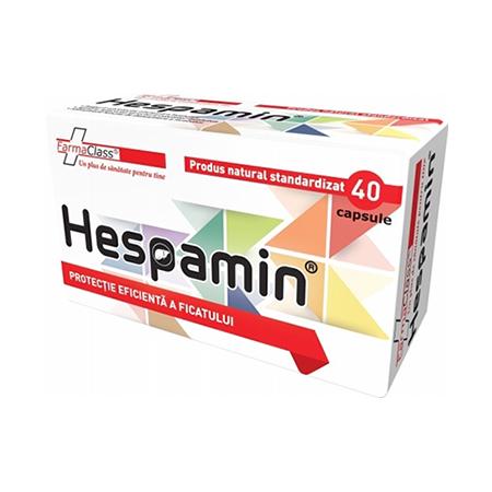 Hespamin 40cps, Farmaclass
