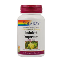 Indole 3 Supreme 200mg 30 cps Solaray