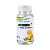 Immuno C with Zinc and Vitamin D3 30 cps, Solaray