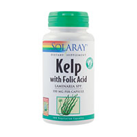 Kelp 550mg 100 cps, Solaray