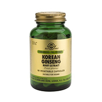 Korean Ginseng Root Extract 60 cps, Solgar