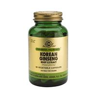 Korean Ginseng Root Extract 60 cps, Solgar