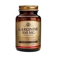 L-Arginine 500mg 50 cps, Solgar