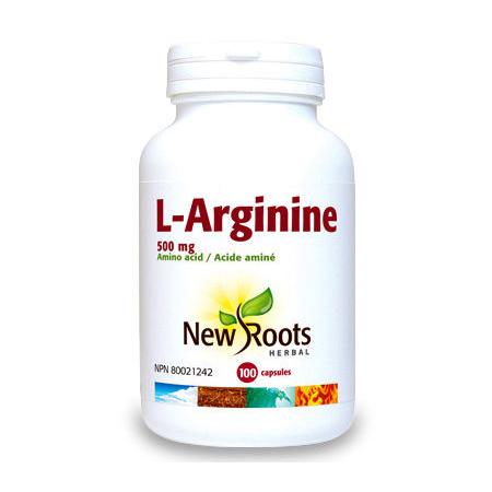 L-Arginina 90 cps, New Roots