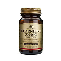 L-Carnitine 500mg 30 tab, Solgar