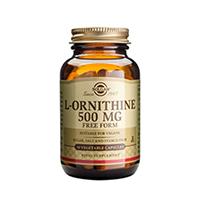 L-Ornitina (L-Ornithine) 500mg 50 cps, Solgar