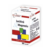 Lecitina & Magneziu 30 cps, Farmaclass