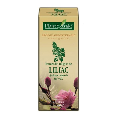 Extract din muguri de liliac 50ml, Plantextrakt