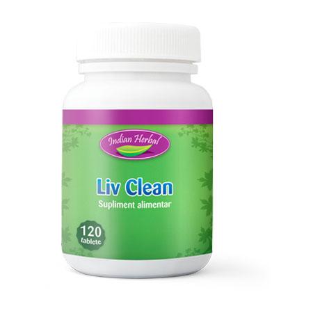 Liv Clean 120 tb, Indian Herbal