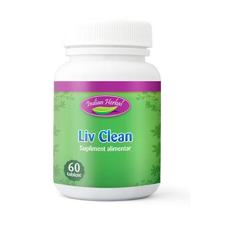 Liv Clean 60 tb, Indian Herbal