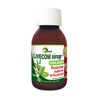 Livecom sirop fara zahar 100 ml, Ayurmed