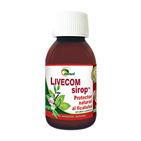Livecom Sirop 100 ml, Ayurmed