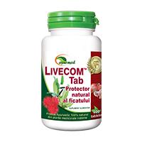 Livecom 50 tbl, Ayurmed