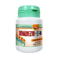 Magneziu + B6 30 tbl, Cosmo Pharm