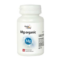 Magneziu Organic 60 cps, Dacia Plant