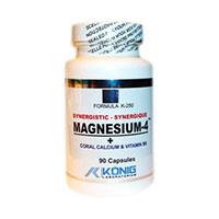 Magnesium-4 cu coral calciu si vitamina B 90 tbl, Konig