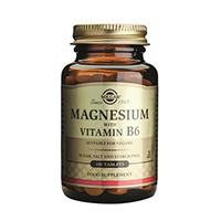Magneziu cu vitamina B6 100 tbl, Solgar