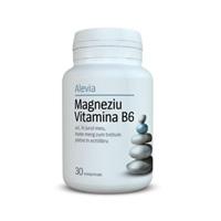 Magneziu vitamina B6 30 cpr, Alevia