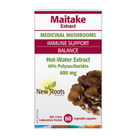 Maitake forte 60  cps, New Roots