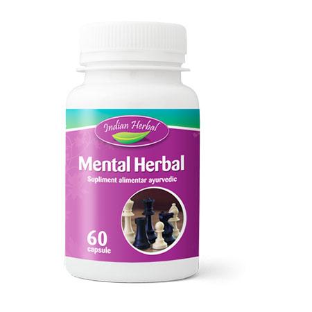 Mental Herbal 60 cps, Indian Herbal