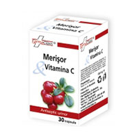 Merisor & Vitamina C 30 cps, Farmaclass