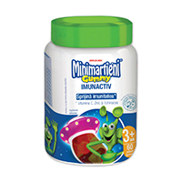Minimartieni Gummy cu Echinacea 60 jeleuri, Walmark
