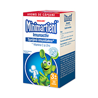 Minimartieni Imunactiv capsuni 30 tb, Walmark
