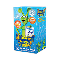 Minimartieni Omega 3 30 cps