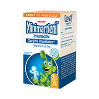 Minimartieni Imunactiv portocale 30 cps, Walmark