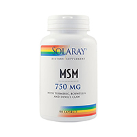 MSM 750mg 90 cps, Solaray