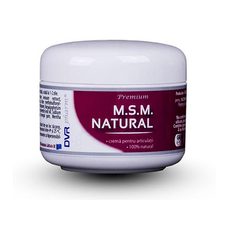 MSM natural crema 75 ml, DVR Pharm
