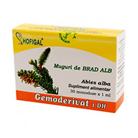 Muguri de brad alb - Gemoderivat 30 monodoze, Hofigal