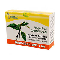 Muguri de carpen alb - Gemoderivat 30 monodoze, Hofigal