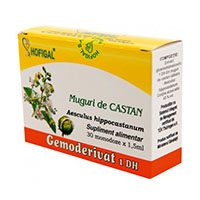 Muguri de castan salbatic - Gemoderivat 30 monodoze, Hofigal