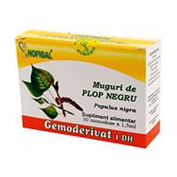 Muguri de plop negru - Gemoderivat 30 monodoze, Hofigal