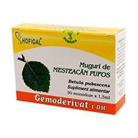 Muguri de mesteacan pufos - Gemoderivat 30 monodoze, Hofigal