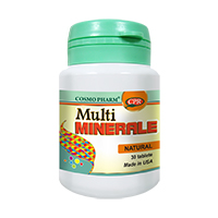 Multivitamine si Multiminerale - Formula Complexa 30 cps