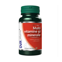 Multivitamine si minerale 60 cps, DVR Pharm