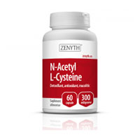 N-Acetyl L-Cysteine 550mg 60 cps