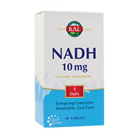 NADH 10mg 30 tb, Solaray